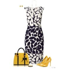 Love the dress, but I hate yellow, maybe in a bright blue?