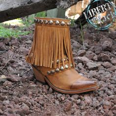 Liberty Black Boots, perfect fringe for every style