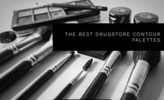 The Best Choices For Drugstore Contour Kits and Palettes Contour Kit, Contour Palette, Makeup Tools, Makeup Products, High End Makeup, Skin Care Tools, Makeup Application, Setting Powder, Hair Tools