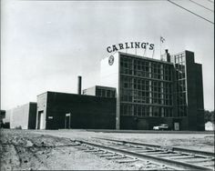 The Red Deer Brewery in 1957 after it was taken over by Carlings.
