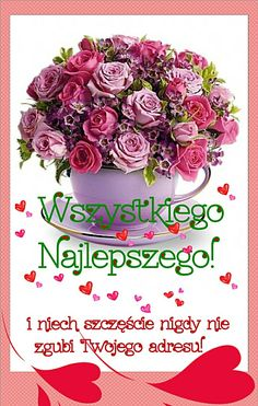 Z okazji. Birthday Greetings, Happy Birthday, Diy And Crafts, Merry Christmas, Cards, Pictures, Arbonne, Humor, Polish