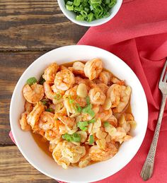 Garlicky Shrimp (let's try it with chicken!)