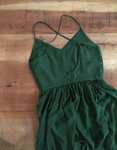 Green Desert Dress - Sew The Skirt Fashion Sewing, Diy Fashion, Dress Fashion, Fancy Romper, Romper Outfit, Couture Sewing, Pattern Fashion, The Dress, Diy Clothes
