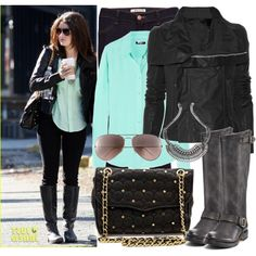 """""""celeb style : Lucy Hale :)"""" by katijaa on Polyvore"""
