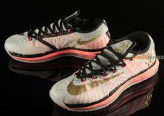 best loved 384c5 b469f Nike KD VI Elite (White, Crimson   Gold) Kd Shoes, Sock Shoes