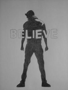 Justin Bieber believe movie drawing