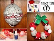 DIY #YarnBalls, #Christmas