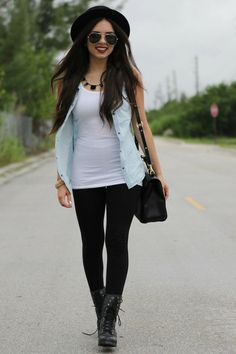 Black-combat-pink-and-pepper-boots-black-express-leggings-white-target-shirt_400
