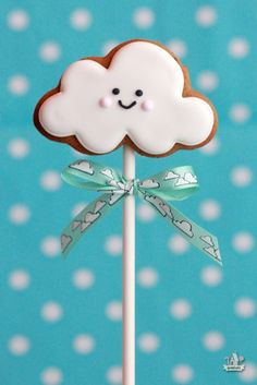 Decorated Cloud Cookie   Sweetopia