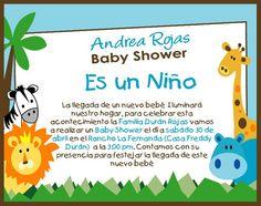Invitación Baby Shower Animalitos   Imagui