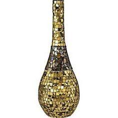 Dale Tiffany PG10103 Antique Gold Vase
