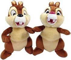 Chip & Dale Plush - 9 by DisneyChip and Dale stand high.Features of Chip & Dale Plush - 9 by DisneyExclusively created for Disney Theme Parks and ResortsSpecification of Chip & Dale Plush - 9 by DisneyProduct DetailDimensions inchesWeight pounds Disney Plush, Disney Mickey Mouse, Cinderella Doll, Disney Stuffed Animals, Chip And Dale, Disney Dolls, Top Toys, Disney Style, Disney Parks