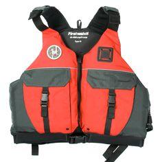 First Watch AV-900 Sport Vest - Red/Grey - XX-Large - https://www.boatpartsforless.com/shop/first-watch-av-900-sport-vest-redgrey-xx-large/