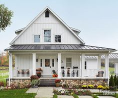 Rustic farmhouse exterior designs ideas (8)