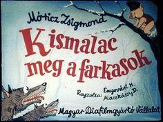 Kismalac meg a farkasok 1975 - YouTube Web Gallery, Three Little Pigs, Film Strip, Children's Literature, Games For Kids, Kids Playing, Childrens Books, Preschool, Album