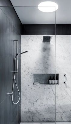 Luxury Bathroom Master Baths Marble Counters is agreed important for your home. Whether you choose the Luxury Bathroom Ideas or Luxury Bathroom Master Baths Walk In Shower, you will make the best Interior Design Ideas Bathroom for your own life. Marble Showers, Steam Showers Bathroom, Laundry In Bathroom, Bathroom Renos, Master Bathroom, Bathroom Ideas, Bathroom Designs, Shower Ideas, Bathroom Remodelling