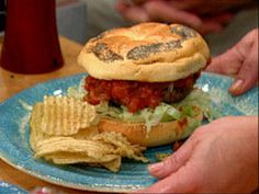 Spicy Bloody Mary Burgers Recipe