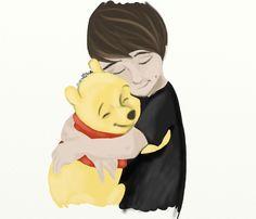 Dan and Winne the pooh THE FEELS!!