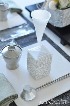 ピュアホワイトのお正月テーブルコーディネート♡