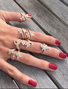 Fleur rings