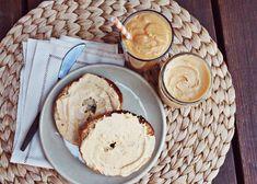 Pumpkin spice smoothie and Pumpkin spice cream cheese