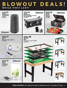 Stein Mart Black Friday 2018 Ads and Deals Browse the Stein Mart Black Friday 2018 ad scan and the complete product by product sales listing. #steinmart #blackfriday
