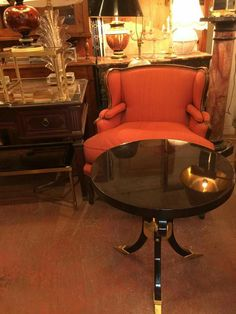 Large Marcese Oversize Bergere Arm Chair.