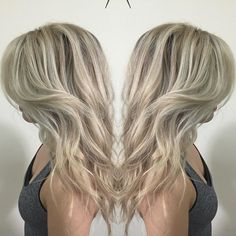 Indoor lighting for this gorgeous babe! This balayage is breathtaking! We took her from from foils to this dimensional melted based into hand painted highlights! #blondescontest #behindthechair #modernsalon #angelofcolour #americansalon #stylistconnect #inspireshairstyles #phantonofbeauty #cakefaceconfessionofficial #sabrinasinbeauty #glamourmag #elleusa #happilyeverose #beautylaunchpad #bangstyle #scruples #hotonbeauty #laurenconrad #hairbrained #btchairpics #colorhair #blon