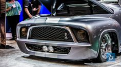 Check out the rest of Ford's SEMA 2013 booth in the gallery below ... grey silver