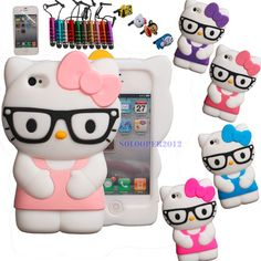 Hello Kitty Cell Phone Cover . . . . aw