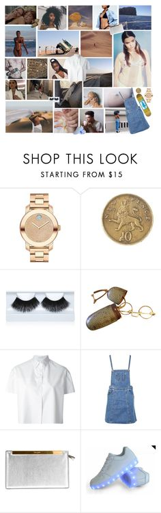 """""""Trust and respect is what we do this for"""" by existential-crisis ❤ liked on Polyvore featuring Movado, Alkemie, Gorgeous Cosmetics, Ermanno Scervino, Boohoo, Yves Saint Laurent and Martucci"""