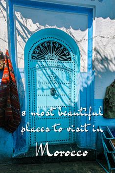Beautiful Places To Travel, Tropical Paradise, Travel Guides, Winter Wonderland, Morocco, Most Beautiful, Neon Signs