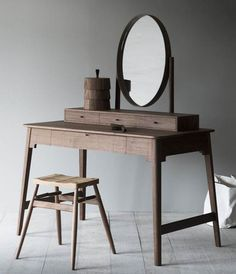 Lana dressing table II by Pinch Furniture Diy Furniture, Modern Furniture, Furniture Design, Dressing Table Design, Interior Decorating, Interior Design, Table Desk, Elle Decor, Sweet Home