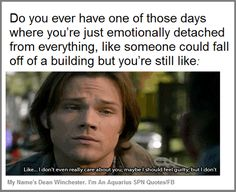Image result for best dean winchester quotes