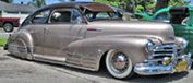 Lowrider crowd call'em the bomb. Its a Chevy Fleetline or Stylemaster with loads of style. WANT!