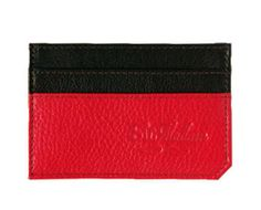 This Ruby cardholder by Sir Madam is made by hand in an effort to support social enterprises in India. Hand sewn from top grain leather. $20.00