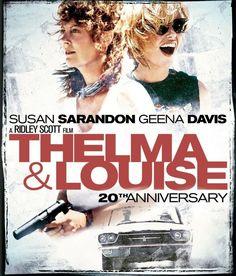 Thelma and Louise - stars Geena Davis, Susan Sarandon, Brad Pitt
