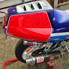 Custom Motorcycles, Cars And Motorcycles, Gsxr 1100, Suzuki Gsx R 750, Japanese Motorcycle, Suzuki Motorcycle, Pikes Peak, Steve Mcqueen, Sidecar
