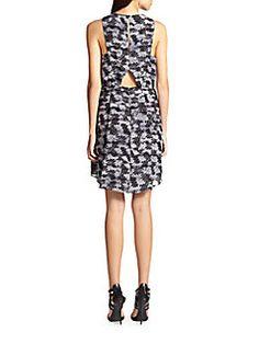 Summer Storm Cutout Dress