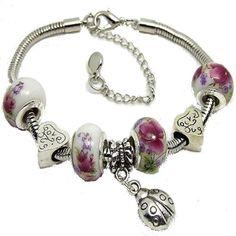 bracelets fantaisie perles et charms http://www.diabolobijoux.com/fr/bracelet-femme/753-bracelet-fantaisie-pascher.html