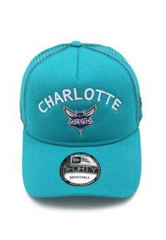 ebb10fbf0af8f Boné New Era Charlotte Hornets Azul