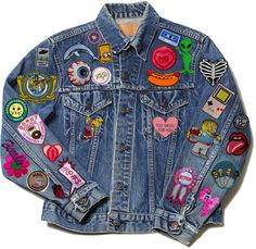 patchwork on BLAST...omg my dad had put.a bunch of.patches on my jacket for.me when I was a kid!
