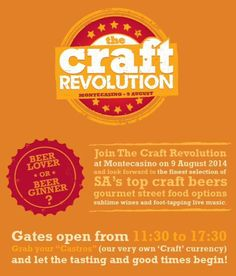 The Craft Revolution Top Craft Beers, Burger King Logo, Live Music, Street Food, Wines, Revolution, The Selection, Crafts, Gourmet