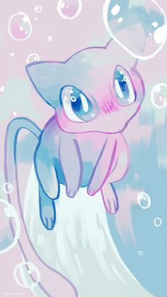 rinnai-rai:Mew phone background, since we're getting event Mews pretty soon!
