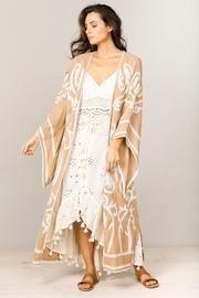 Talisman Penzance Kimono in Indian Tan Kimono Top, Label, Bohemian, Australia, Indian, Boutique, Shopping, Collection, Tops