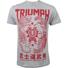Baby Blue Triumph United Mens I Love Jiu Jitsu T-Shirt