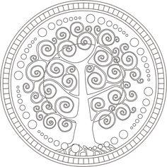 Arbol Genealogico Para Colorear - AZ Dibujos para colorear