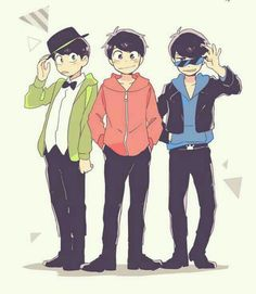 """Find and save images from the """"❤💙💚Osomatsu-San💜💛💖"""" collection by Yubin Kim (sassykgal) on We Heart It, your everyday app to get lost in what you love. Hot Anime Guys, All Anime, Me Me Me Anime, Onii San, Osomatsu San Doujinshi, Ichimatsu, Body Poses, Manga, Artist Names"""