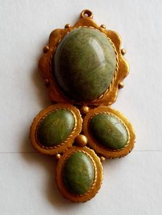 Polymer Clay Faux Jade Unique Finding by IndwellingSpirit on Etsy