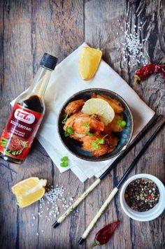 Tao Tao - Krewetki w jajecznej tempurze teriyaki TaoTao - orientalne przepisy kulinarne Tao, Ramen, Japanese, Ethnic Recipes, Japanese Language